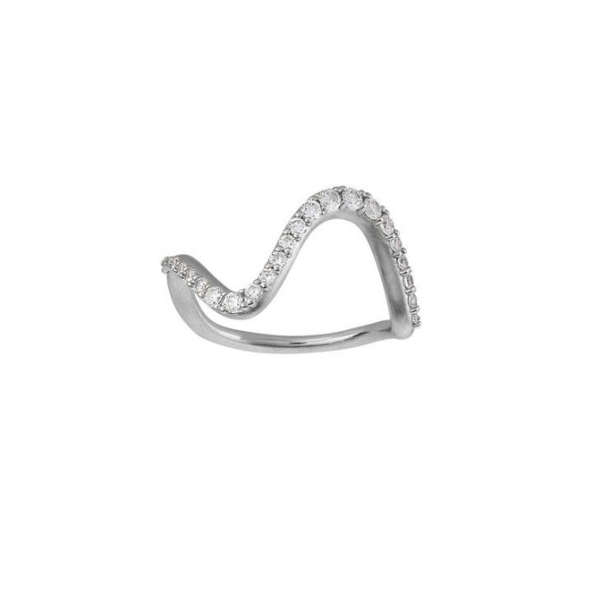 byBiehl - Ring - Wave Sparkle Large