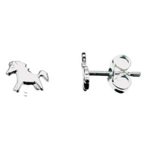 Sølv øreringe - heste