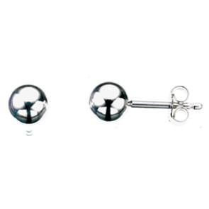 Sølv øreringe - 6mm