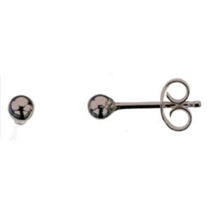 Sølv øreringe - 3mm