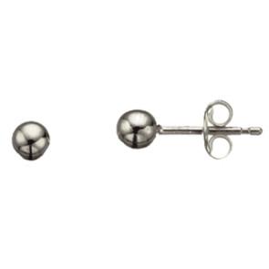 Sølv øreringe - 5mm