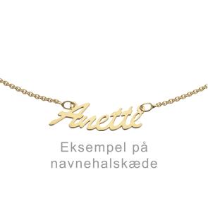 SCROUPLES - NAVNEHALSKÆDE - 8 KARAT