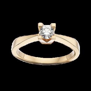 Kleopatra - Ring - Guld og Ure