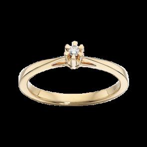Prinsesse - Ring - Guld og Ure
