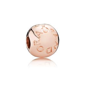 Pandora, Klemmeled , Logo , Guld og Ure