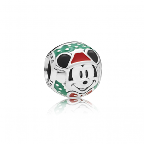 Pandora - Charm - Disney Mickey Santa