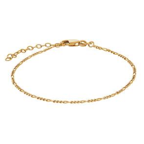 Nordahl Jewellery, armbånd , sølv forgyldt , 825480-3