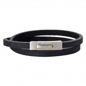 SON OF NOA - ARMBÅND - SORT - 6MM - DOBBELT