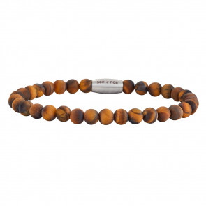 SON OF NOA - ARMBÅND - YELLOW TIGER EYE - MAT