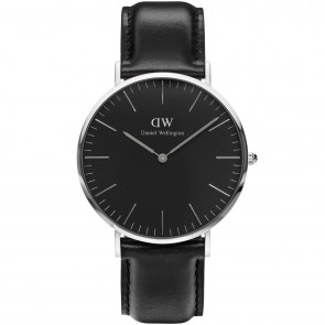 DANIEL WELLINGTON - CLASSIC BLACK SHEFFIELD - 40 MM
