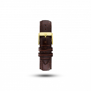 ABOUT VINTAGE PIN BUCKLET BROWN STRAP