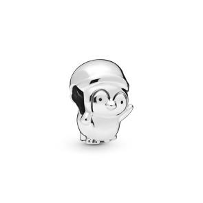 Pandora, Charm, Christmas Penguin