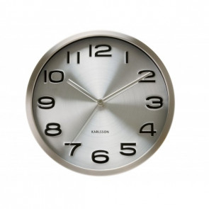 KARLSSON - WALL CLOCK MAXIE STEEL
