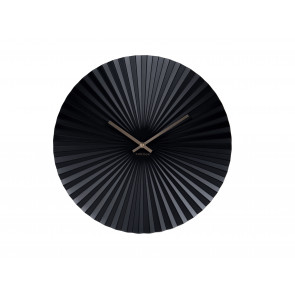 KARLSSON - WALL CLOCK SENSU STEEL BLACK
