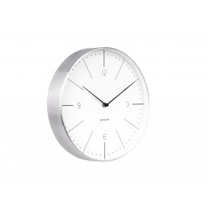 KARLSSON - WALL CLOCK NORMANN NUMBERS WHITE