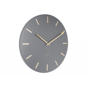 KARLSSON - WALL CLOCK CHARM GREY