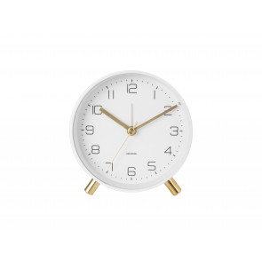 KARLSSON - ALARM CLOCK LOFTY MATT WHITE