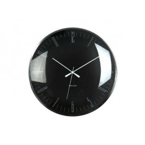 KARLSSON - WALL CLOCK DRAGONFLY BLACK