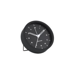 KARLSSON - ALARM CLOCK TINGE STEEL BLACK