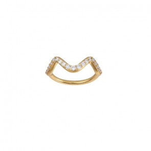 byBiehl - Ring - Wave Sparkle Small